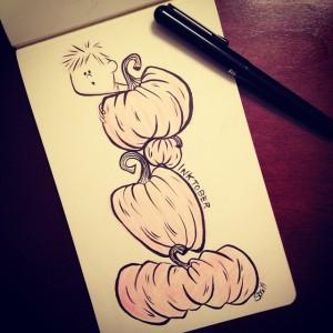 pumpkinpile